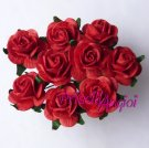 Rosa 20 mm roja intensa ( 5 uds)