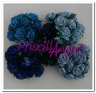 Lote Rosas tonos AZULES 10 mm ( escoger color )