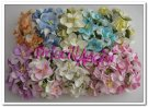 Gardenias en papel mulberry 40 mm colores surtidos ( 10 uds)